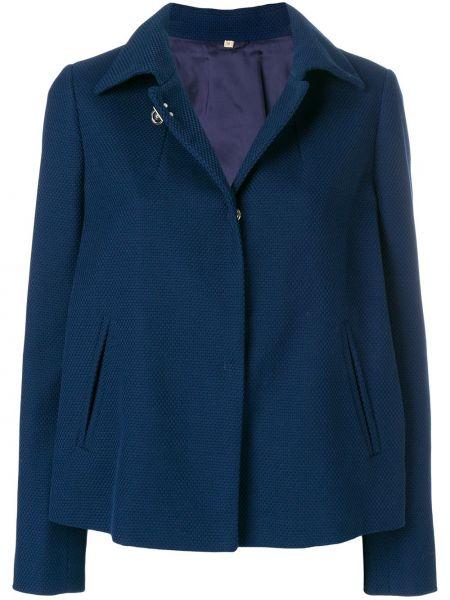 Синий пиджак Fay