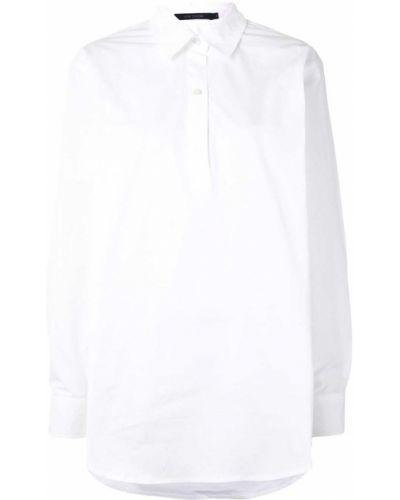 Хлопковая белая рубашка с длинными рукавами Sofie D'hoore