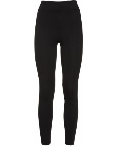 Bawełna bawełna czarny legginsy elastyczny Nike