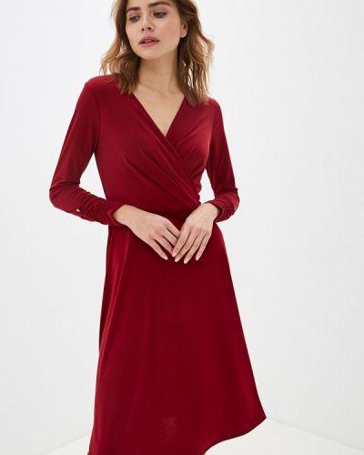 Вечернее платье бордовый красный Wallis