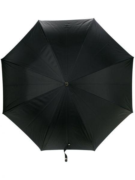 Parasol czarny srebro Alexander Mcqueen