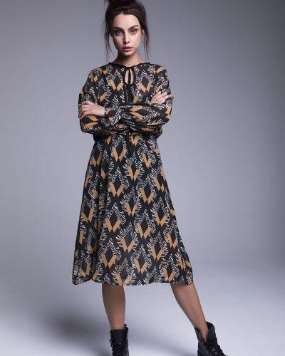 Платье миди мини с поясом Naoko