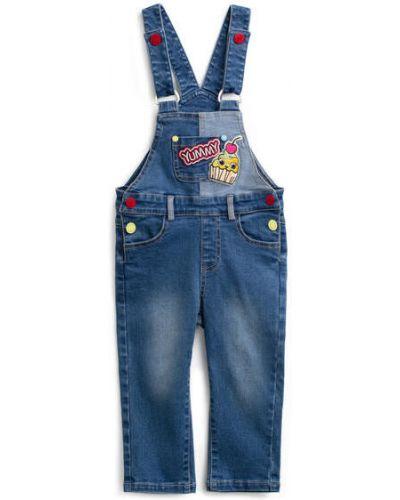 Комбинезон джинсовый с поясом Playtoday Baby