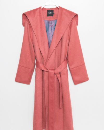 Куртка с капюшоном с карманами утепленная Simple