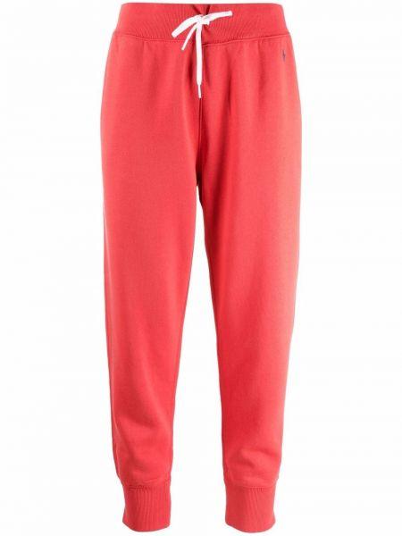 Красные брюки с карманами Polo Ralph Lauren