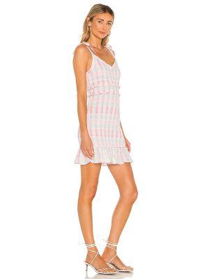 Розовое платье с американской проймой Bcbgeneration