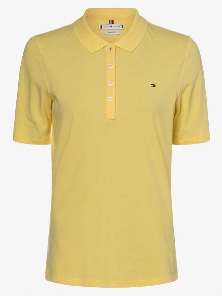 T-shirt - żółta Tommy Hilfiger