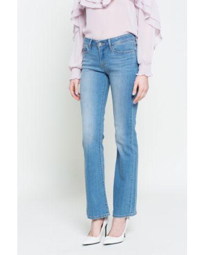 Расклешенные джинсы с эффектом потертости буткат с нашивками Levi's®