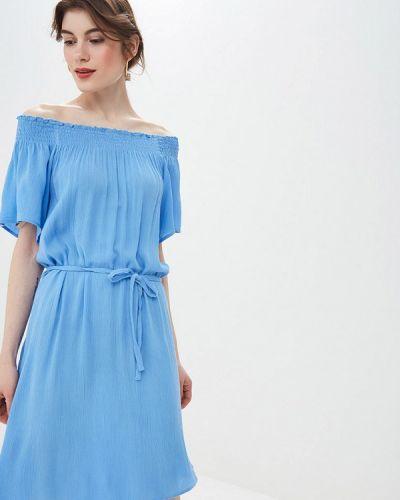 Платье с открытыми плечами весеннее Blendshe