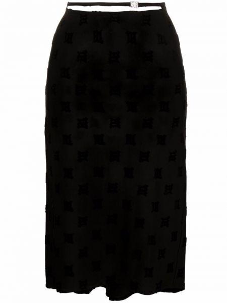 Черная юбка из полиэстера Misbhv