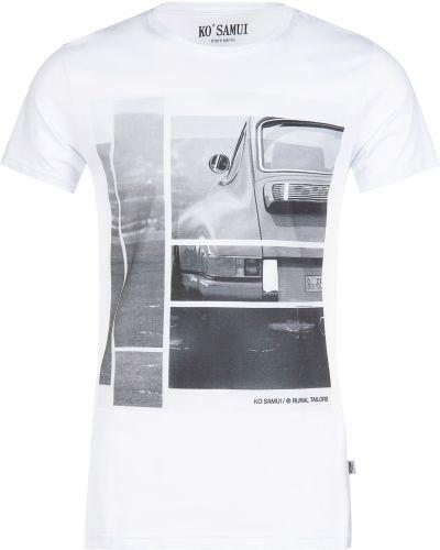 Хлопковая футболка - белая Ko Samui