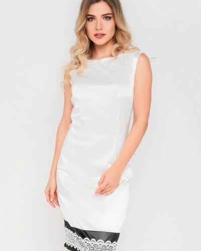 Платье миди - белое Modniy Oazis
