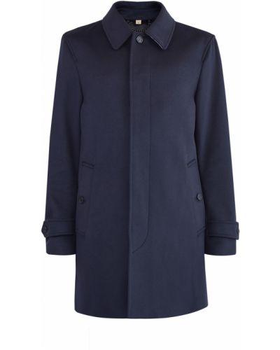 Пальто классическое кашемировое в клетку Burberry
