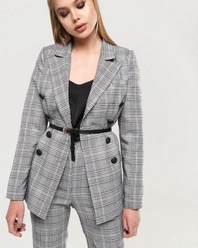 Серый пиджак Lavana Fashion