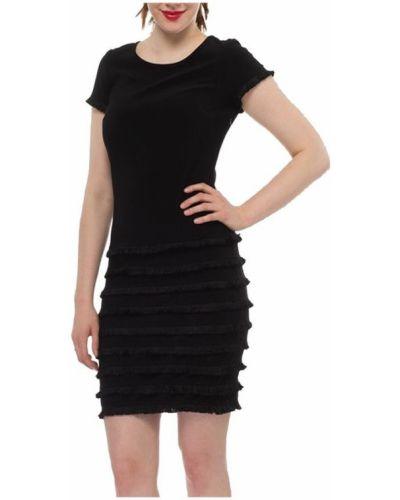 Czarna sukienka krótki rękaw Joseph Ribkoff