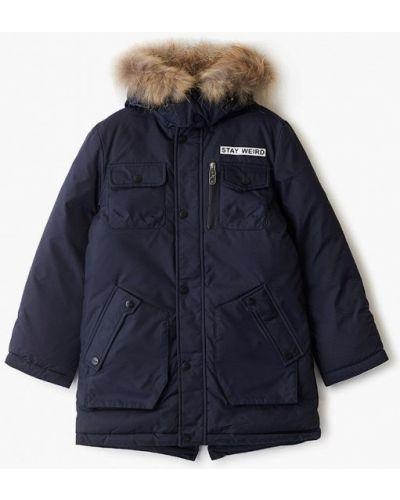 Куртка теплая синий Fobs