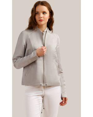 Куртка серебряная светлая Finn Flare
