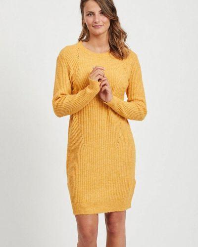 Платье вязаное осеннее Vila