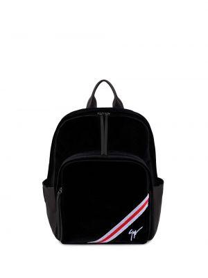 Plecak - czarny Giuseppe Zanotti