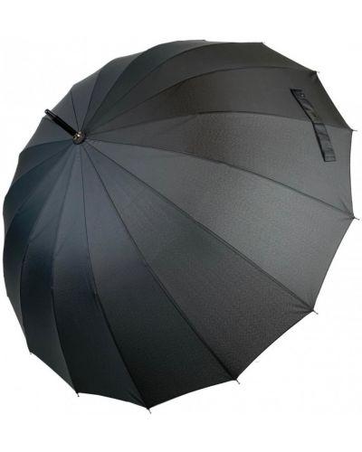 Текстильный серебряный зонт-трость Star Rain