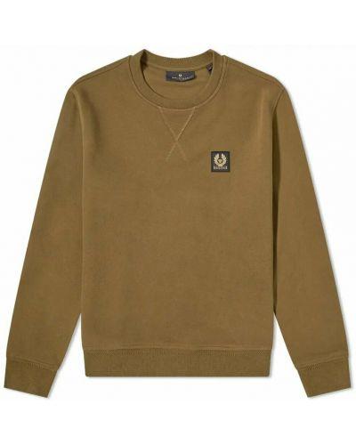 Zielona bluza dresowa Belstaff
