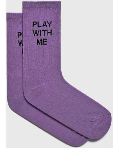 Хлопковые носки - фиолетовые Fulloff