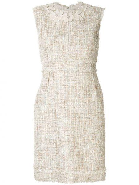 Облегающее платье трапеция с поясом Giambattista Valli
