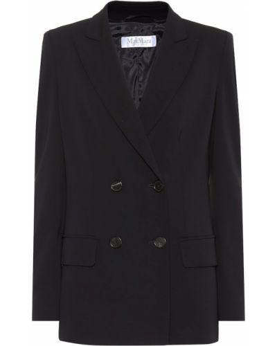 Классический пиджак двубортный из вискозы Max Mara