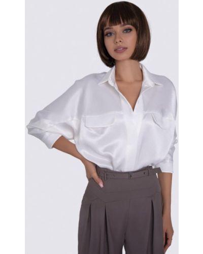 Белая блузка с длинными рукавами Anushka By Anna Pavlova