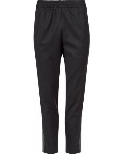 Шерстяные брюки - черные Sfizio