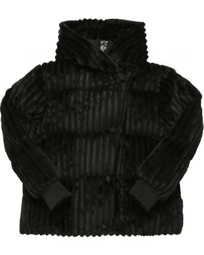 Дутая куртка - черная Dkny