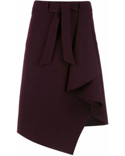 Юбка с завышенной талией фиолетовый Egrey