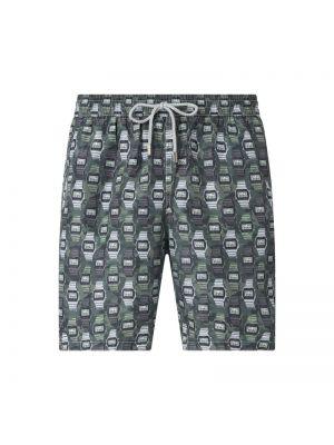 Zielone spodnie na rzepy Zeybra