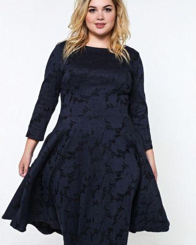 Коктейльное платье осеннее черное Matilda
