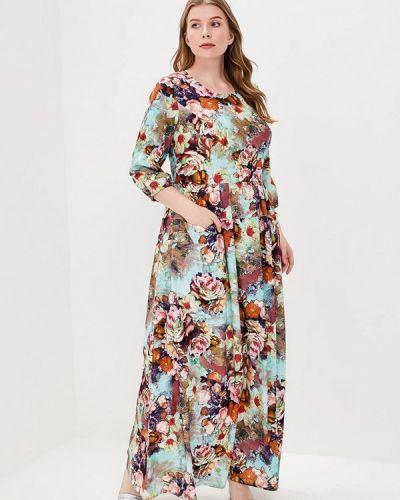 Платье с длинными рукавами весеннее Kr