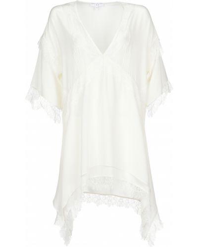 Шелковое платье - белое Iro