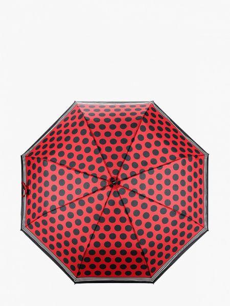 Красный складной зонт Doppler