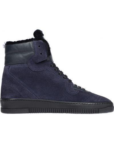 Кожаные ботинки замшевые осенние John Galliano