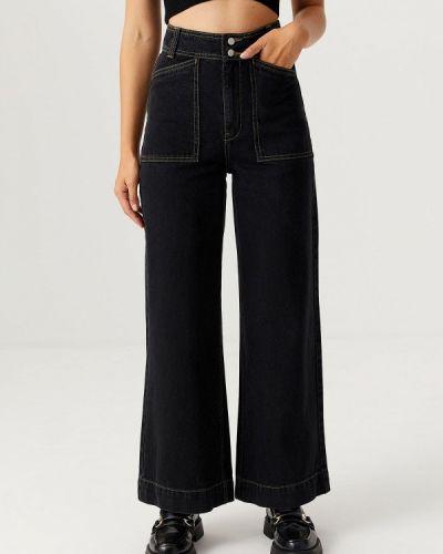 Черные джинсы осенние Sela