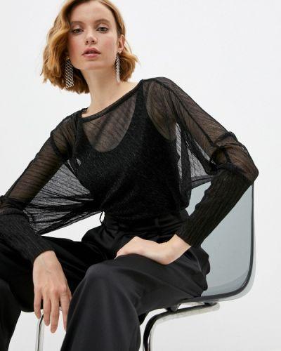 Черная блузка с длинными рукавами Adzhedo