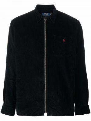 Куртка вельветовая - черная Polo Ralph Lauren