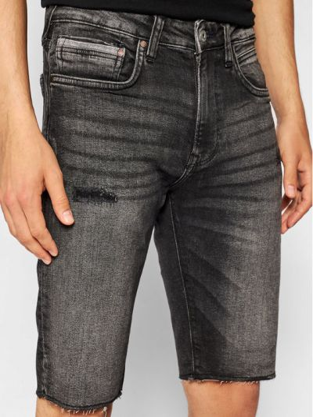 Szare szorty jeansowe Pepe Jeans