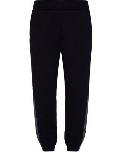 Спортивные брюки черные с карманами Prada