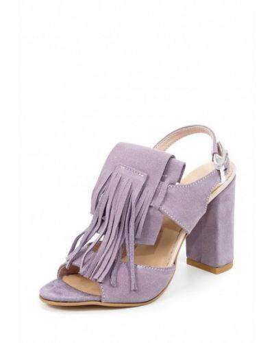 Фиолетовые босоножки на каблуке Roberto Netti