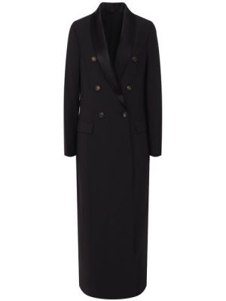 Пальто шерстяное пальто Brunello Cucinelli