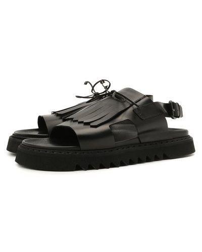 Кожаные сандалии с подкладкой Attimonelli's