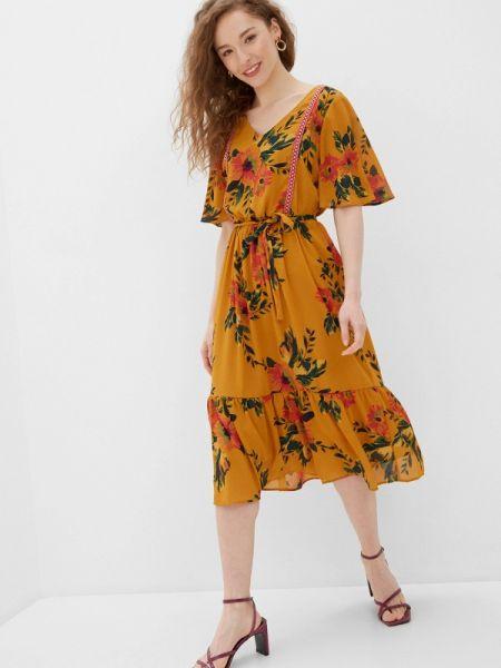 Оранжевое платье Jacqueline De Yong