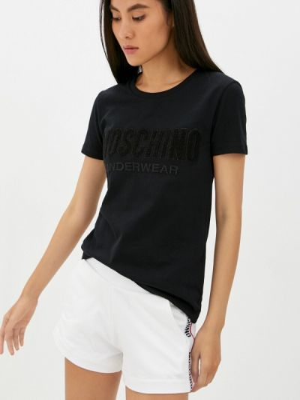 Белые зимние шорты Moschino Underwear