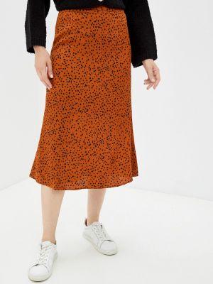 Коричневая юбка осенняя Zibi London