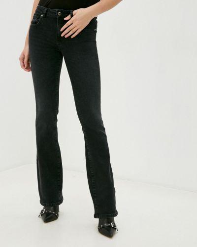 Черные расклешенные широкие джинсы Silvian Heach